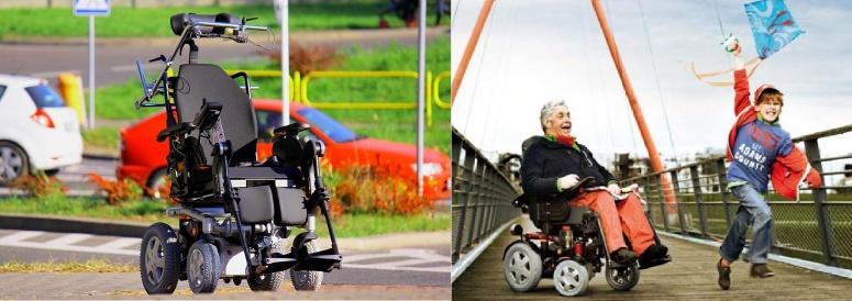 Wózek inwalidzki elektryczny Invacare Kite