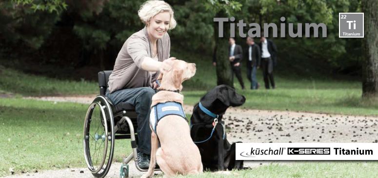 Kuschall K-SERIES Titanium