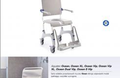 Aquatec - wózki prysznicowe