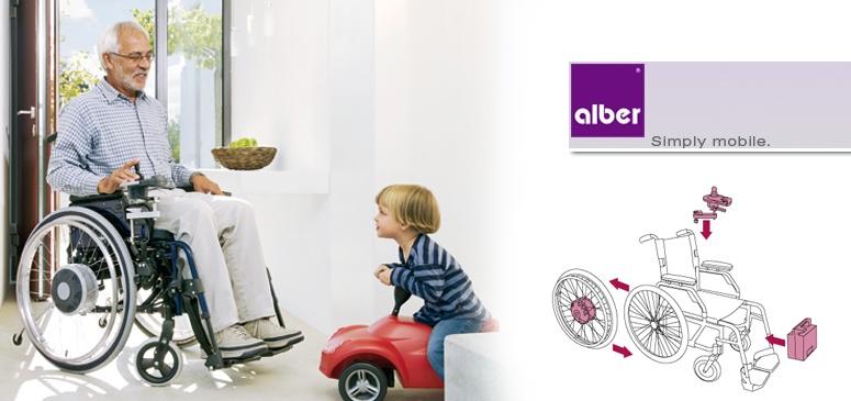 Napęd Alber E-fix
